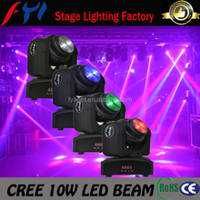 Import China goods 2015 double faces 10w unlimited tilt and pan mini moving beam