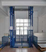 customizable warehouses lift/wall mounted lift for cargo