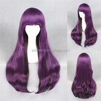 High Quality 80cm Long Straight Pink Mixed Synthetic Anime Lolita Wig Cosplay Lolita Hair Wig Party Wig