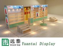 Bag store display cabinet furniture design for OEM /ODM