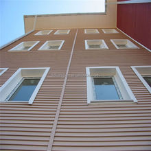pvc panel exterior wall cladding for house