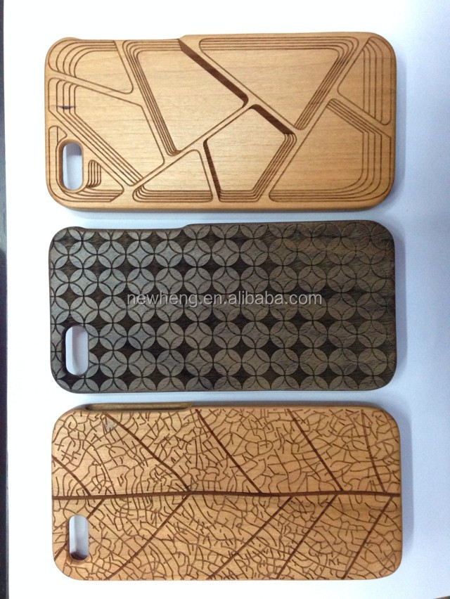 natural bamboo wood case for iphone 5