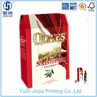 olive oil packaging box paper box