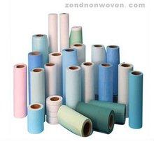 Viscose + PE film + PP nonwoven / tissue /100% viscose nonwoven