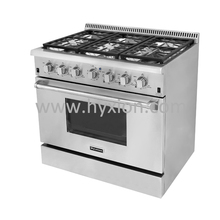 luxury kitchen stove enamel commercial kitchen gas stoves for restaurant