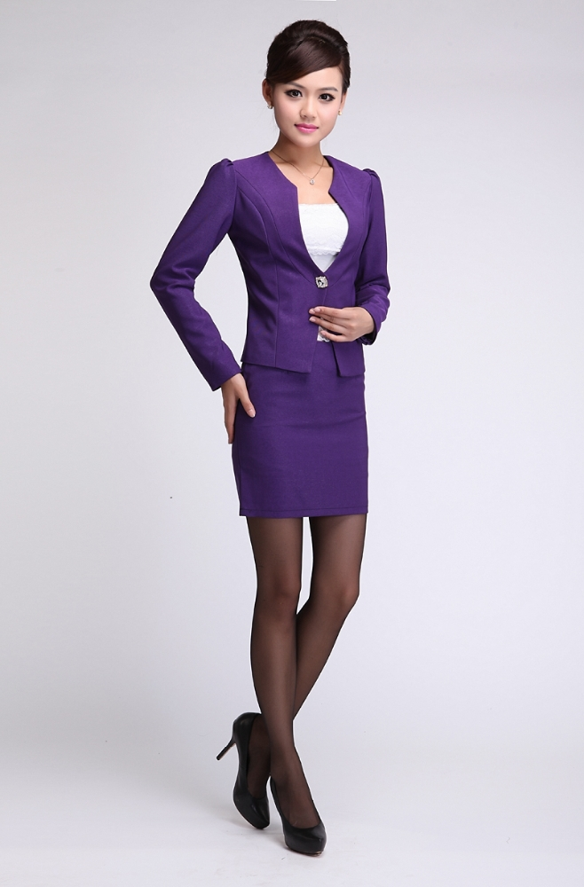 Ladies business suit 2015 new style office uniform designs for Office uniform design 2015