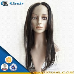 hot selling best quality new popular fashion style silk top light yaki full lace wig