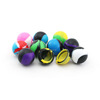 thermostable ball shape unction storage container silicone cosmetic jar silicone medicine jar 38mm 6ml jar