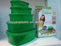 10pcs Food Plastic Container