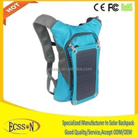 2015 solar backpack laptop bags with light weight and nice colour