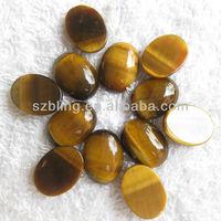 50% Off!Tiger eye oval cabochon gemstone beads
