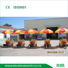 Factory price mobile hot dog cart for sales