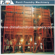 Ruvii L resin sand production line for casting iron in foundry