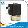 "1/8"" Brass automatic tea coffee maker machine Steam Hot Water Solenoid Valve 110V 220V ZCQ-20E-9"