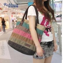 wholesale latest designs spring summer printing canvas 2014 women elegance handbags&messenger bags