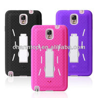 Hybrid Silicone PC Case For Samsung Galaxy Note 3 N9000