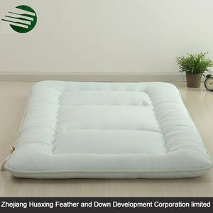 Sola aguja acolchar suave colorido reina poliéster rígido colchón futón