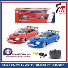 chenghai fábrica de juguetes de plástico rc coche de juguete