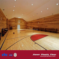 Indoor Basketball Court Pvc Vinyl Sport Floor Covering