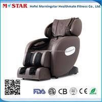 L shape portable music massage chair