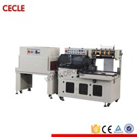 CE approved plc track pof plastic film shrinkage belts packaging machine from taiwan