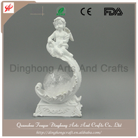 Resin Fairy Angel Factory Decorative Fairy Angel Manufacture Paint Resin Angel Figure