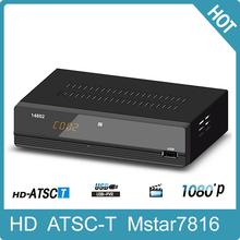 Hd Tv Converter Set Top Box Digital Hdtv Dvb-T Atsc Tuner