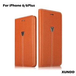 Xundd Flip Leather Mobile Phone Case,For Case iPhone 6,For iPhone 6 Plus Case