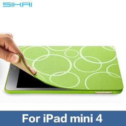 Leather Case Cover For Apple iPad mini 4 Case With Stand Card Tablet Case Leather Case for Apple iPad mini4