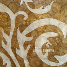 Mother of Pearl Natural Capiz Shell Panels standard size 30x30 cm or customized size