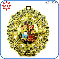 Superior quality fake gold 3d model of medals