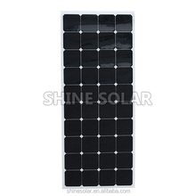 120w Marine use waterproof flexible solar Photovoltaic
