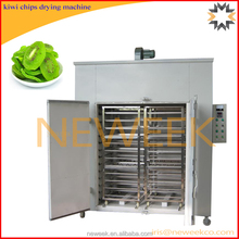 Neweek circulating hot air 96 baking plate fruits raisin lemon kiwi chips drying machine