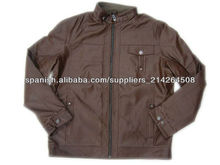 2013 ropa de moda para hombre chaqueta chaqueta de cuero al por mayor