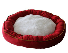 best sell for dog plush cozy nest mat from china
