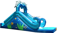 CE/UL EN14960 SGS SAA 2015 sports fire truck inflatable slide for water games