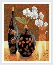 GZ146 classical flower vase framed new design 5D diy diamond painting