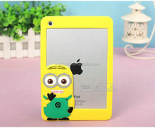 Mobile Phone 3D Silicone Case Despicable Me 3D Silicone Case/Mobile Phone 3D Case for iPhone ipad samsung