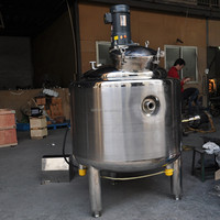 500L stainless steel electric heating mixing tank