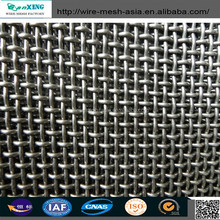 China Factory weave square screened 304 wire mesh twill/dutch weave stainless steel wire mesh