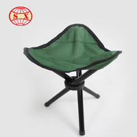 Lightweight outdoor triangle folding chair wholesale