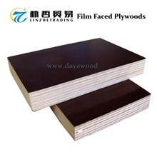 (B20) Waterproof Pine And Eucalytus Wood Veneers PVC Plastic Film Faced Plywood For Concrete Formwork Construction