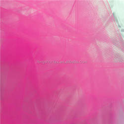 Mosquito net fabric,100% nylon mesh fabric,look through mesh tulle fabric for girl's skirt