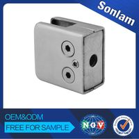 Hot Quality Wholesale Price Custom-Made Practical Stainless Steel Stair Square Type Glass Clamp