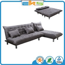FABRIC UPHOLSTERED PU PVC LEATHER MODERN LIVING ROOM CORNOR ADJUSTABLE LUXURY MANUFACTURER SOFA BED
