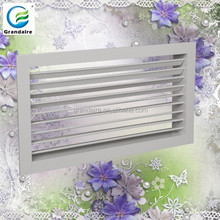 Hot sell Aluminum Single deflection supply air grille
