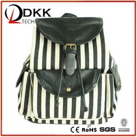 high quality canvas travel backpack bag