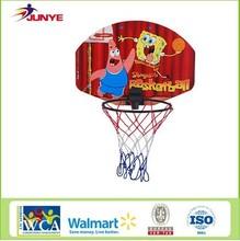hanging adjustable basketball hoop