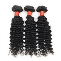 Popular nonprocessed virgin brazilian hair weave 22inch 3 pcs/lot alibaba express