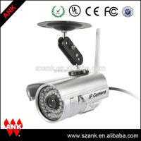 Outdoor p2p waterproof cctv camera outdoor security camera cover for iphone ipad android app